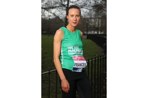 BAKER's DOZEN WARM UP FOR 2018 VIRGIN MONEY LONDON MARATHON WITH PANCAKE RACE Former Great British Bake Off winner, Frances Quinn (Series 4; running for Macmillan Cancer Support) poses as part of the Baker's Dozen of Great British Bake Off contestants to make a flipping good start to their Virgin Money London Marathon training with a pancake race in Hyde Park on Shrove Tuesday The Baker's Dozen is: Chetna Makan (Series 5; running for GOSH), Selasi Gbormittah (Series 7; running for World Vision), Kate Henry (Series 5; running for GOSH), Alvin Magallanes (Series 6; running for GOSH), Jane Beedle (Series 7; running for Great Ormond Street Hospital Children's Charity - GOSH), Enwezor Nzegwu (Series 5; running for Cystic Fibrosis Trust), Beca Lyne-Pirkis (Series 4; running for GOSH), Frances Quinn (Series 4; running for Macmillan Cancer Support), Richard Burr (Series 5; running for GOSH), Tom Gilliford (Series 7; running for GOSH), Ian Cumming (Series 6; running for GOSH), Mat Riley (Series 6; running for GOSH), Michael Georgiou (Series 7; running for GOSH) Free to use images - CREDIT: London Marathon Events Contact: media@londonmarathonevents.co.uk