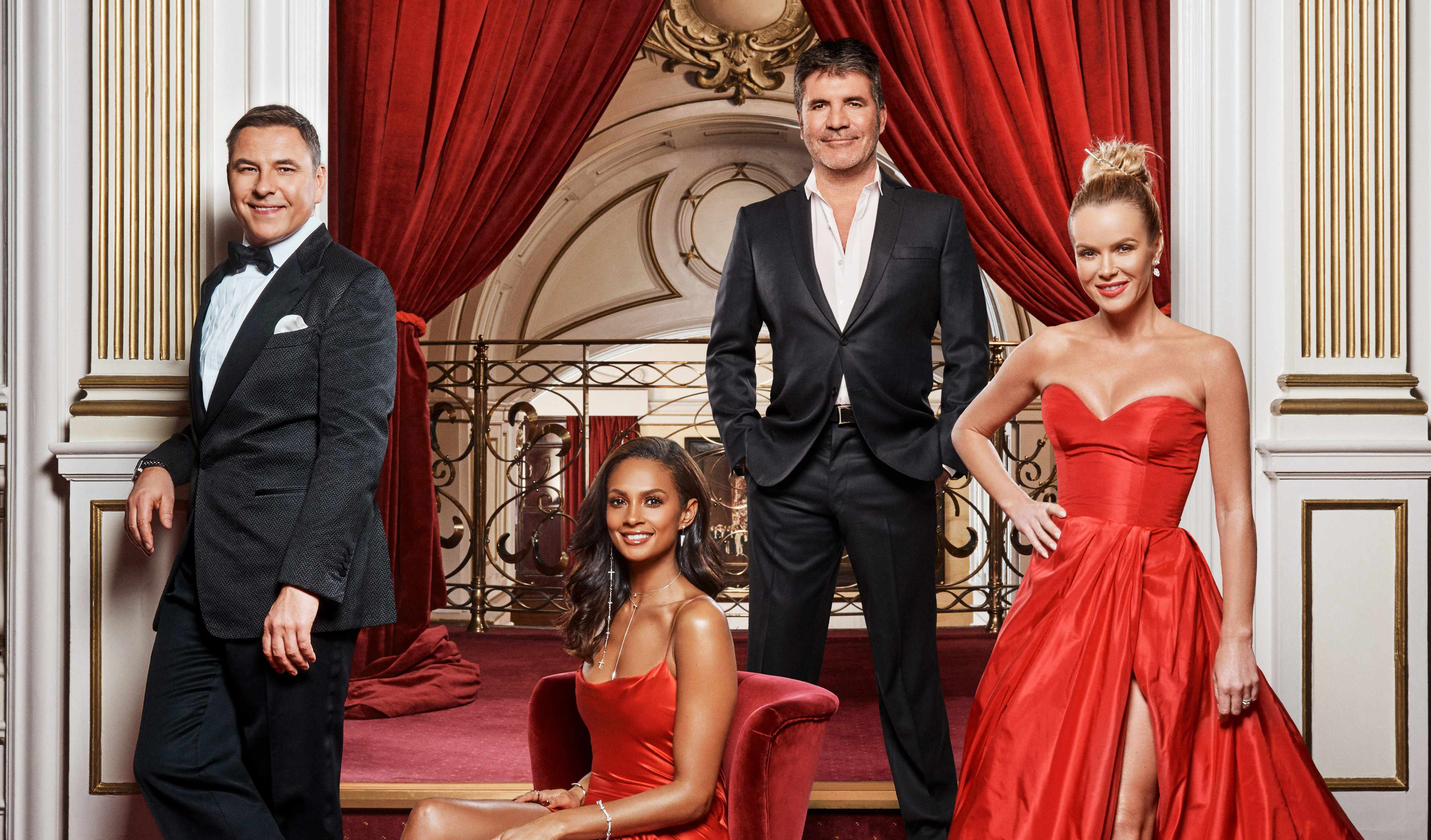 Britain's Got Talent judges 2018: Simon Cowell, David Walliams, Amanda Holden, Alesha Dixon