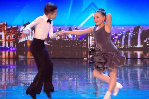 Britain's Got Talent dancers Christopher and Lexie