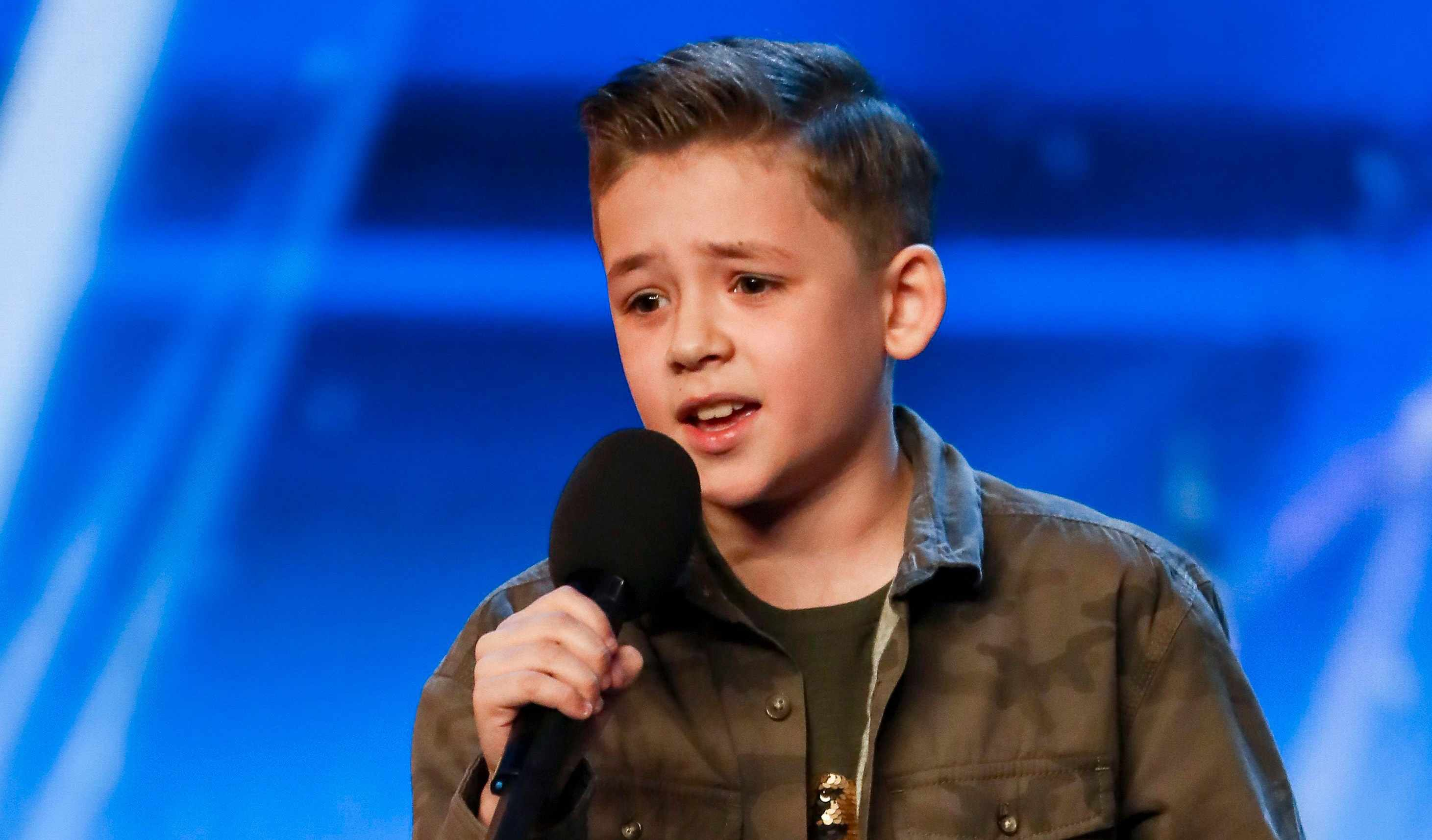Calum Courtney on Britain's Got Talent