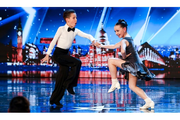 Lexie and Christopher on Britain's Got Talent