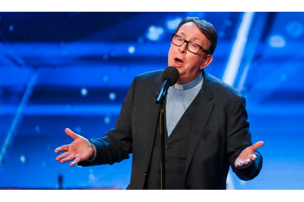 Britain's Got Talent Father Ray Kelly