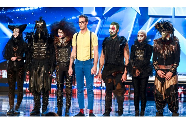 Magus Utopia on Britain's Got Talent