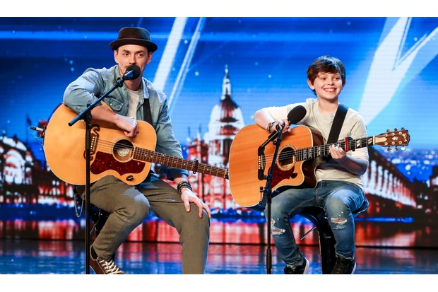 Tim and Jack Goodacre on Britain's Got Talent
