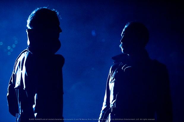 Two performers at Secret Cinema presents Blade Runner - The Final Cut: A Secret Live Experience (Secret Cinema, HF)
