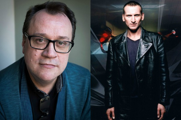 Russell T Davies and Christopher Eccleston (Getty, BBC, HF)