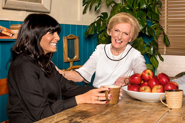Claudia Winkleman and Mary Berry