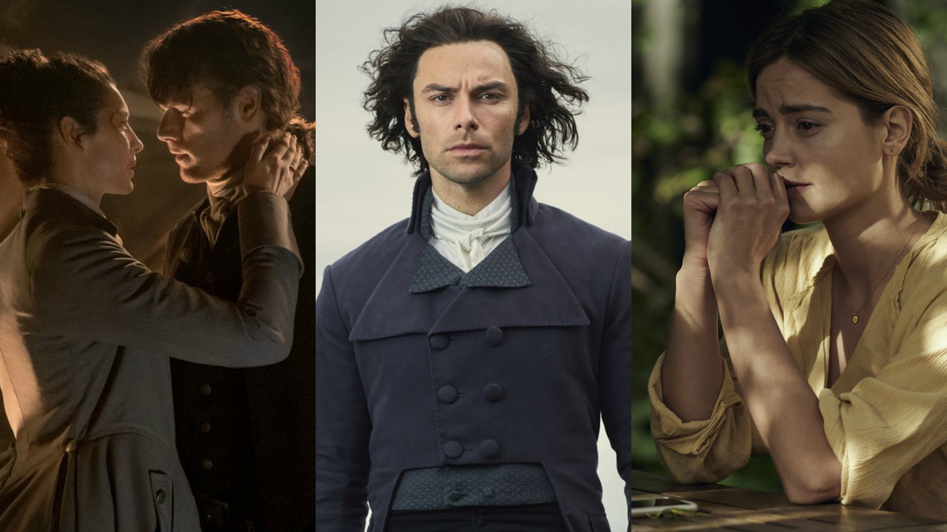 2018 Dramas Poldark Outlander and The Cry
