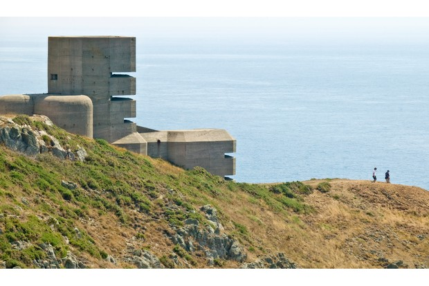 German observation tower on Guernsey's south coast (photo: Chris George, Visit Guernsey)