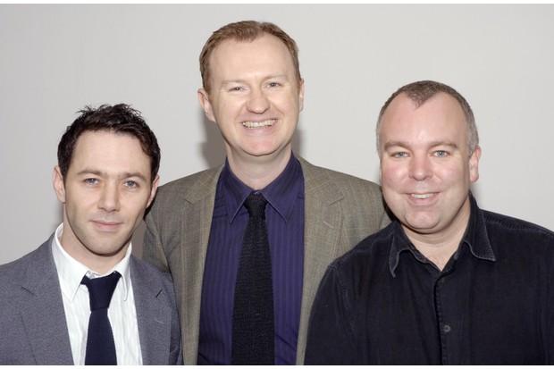 Reece Shearsmith, Mark Gatiss and Steve Pemberton, The League of Gentlemen (Photo by Jorge Herrera/WireImage)