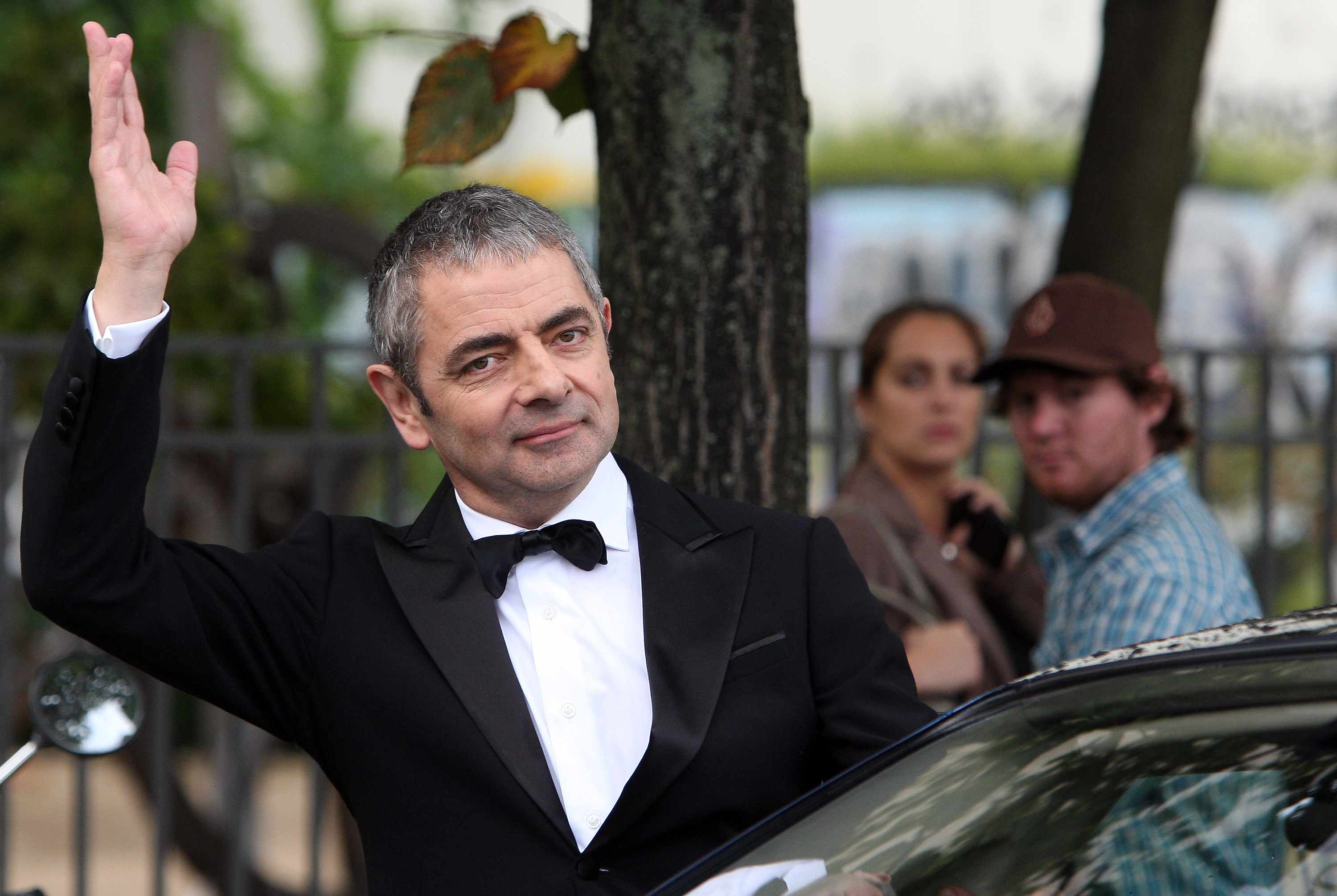 Rowan Atkinson as Johnny English