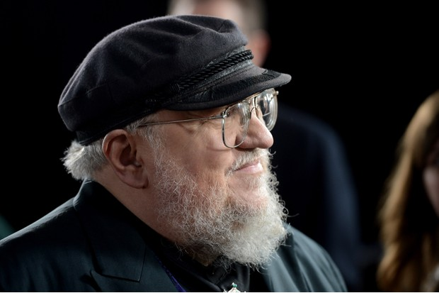 """HOLLYWOOD, CA - MARCH 18: Co-Executive Producer George R.R. Martin arrives at the premiere of HBO's """"Game Of Thrones"""" Season 3 at TCL Chinese Theatre on March 18, 2013 in Hollywood, California. (Photo by Kevin Winter/Getty Images)Getty, TL"""