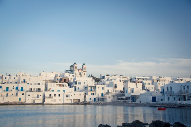 Townscape of Paros, one of the Cyclades islands