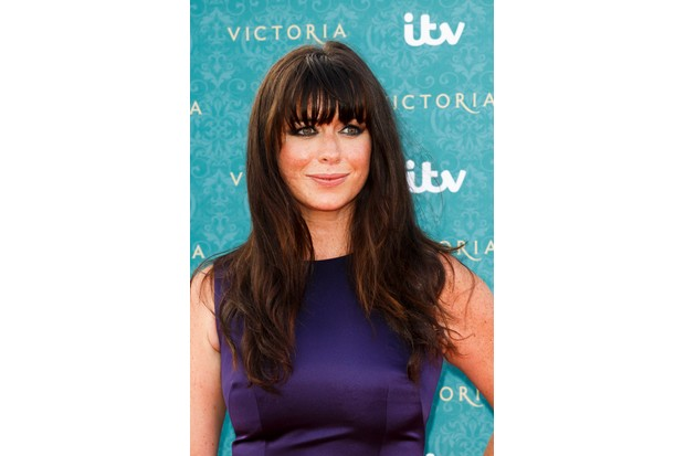 LONDON, ENGLAND - AUGUST 11: Eve Myles arrives for the premiere screening of ITV's Victoria at The Orangery on August 11, 2016 in London, England. (Photo by Tristan Fewings/Getty Images)