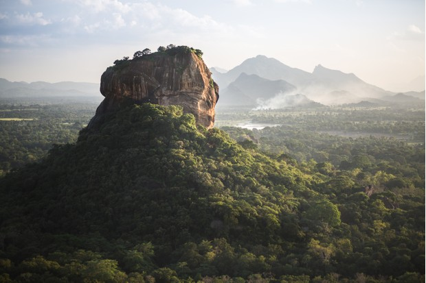 The Sigiriya Lion's Rock fortress