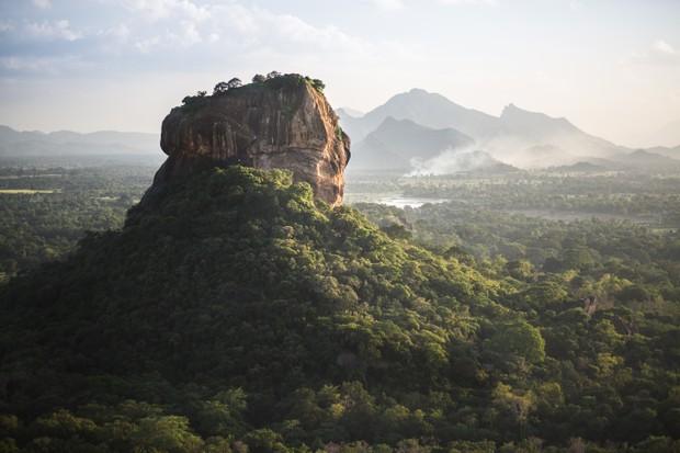 The Sigiriya Lion's Rock fortress