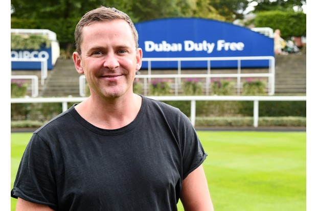 ASCOT, ENGLAND - AUGUST 12: DJ Scott Mills at The Dubai Duty Free Shergar Cup, Ascot Racecourse on August 12, 2017 in Ascot, England. (Photo by Eamonn M. McCormack/Getty Images for Ascot Racecourse)