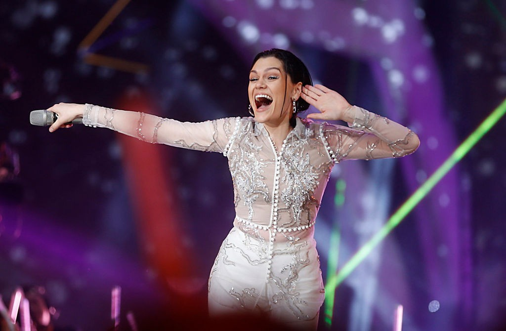 CHANGSHA, CHINA - FEBRUARY 08:  Singer Jessie J performs on the stage during Hunan Television new year gala at Hunan International Conference and Exhibition Center  on February 8, 2018 in Changsha, China.  (Photo by VCG/VCG via Getty Images)