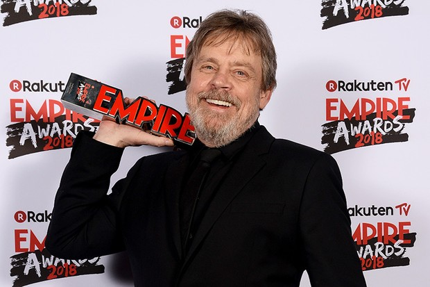 Mark Hamill at the Empire Awards in March (Getty, HF)