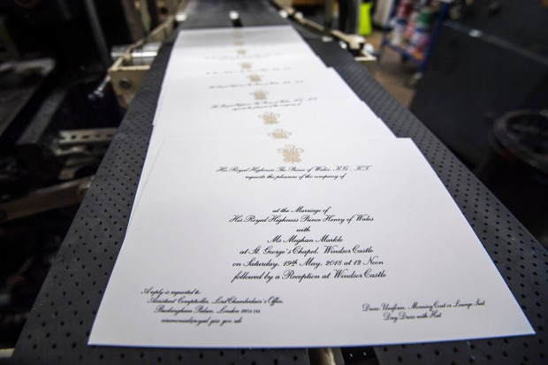 Invitations to the wedding (Getty)