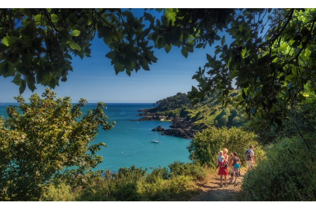 Guernsey cliffs (photo courtesy of Visit Guernsey)