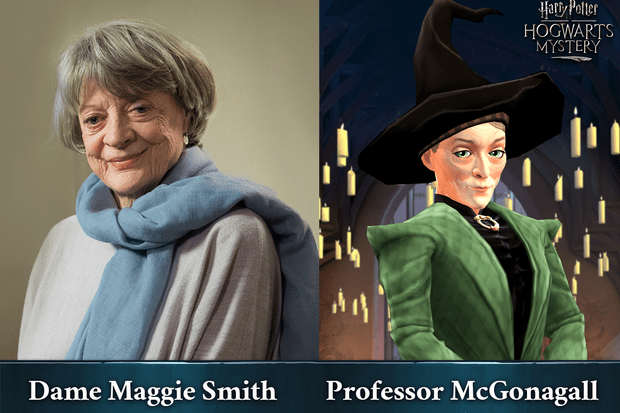 Maggie Smith in new Harry Potter game