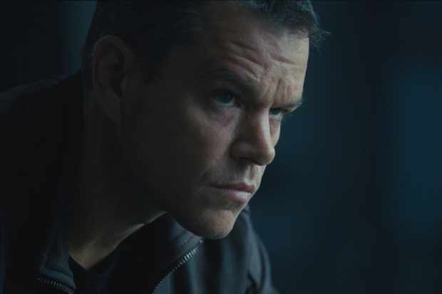 Matt Damon as Jason Bourne, Universal, Sky pics, TL