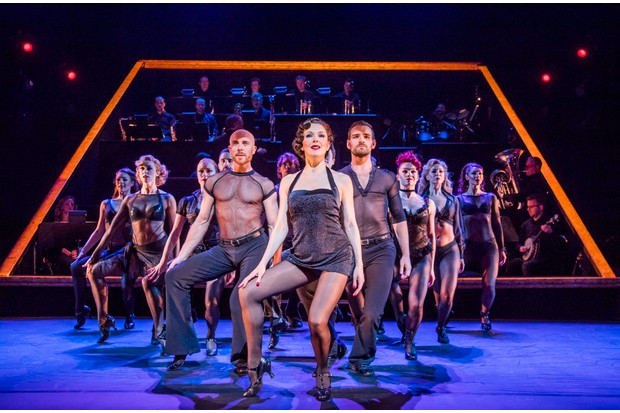 Josefina Gabrielle (Velma Kelly) and the ensemble of Chicago (Photo: Tristram Kenton)