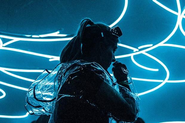 A guest at Secret Cinema presents Blade Runner - The Final Cut: A Secret Live Experience (Laura Little, HF)