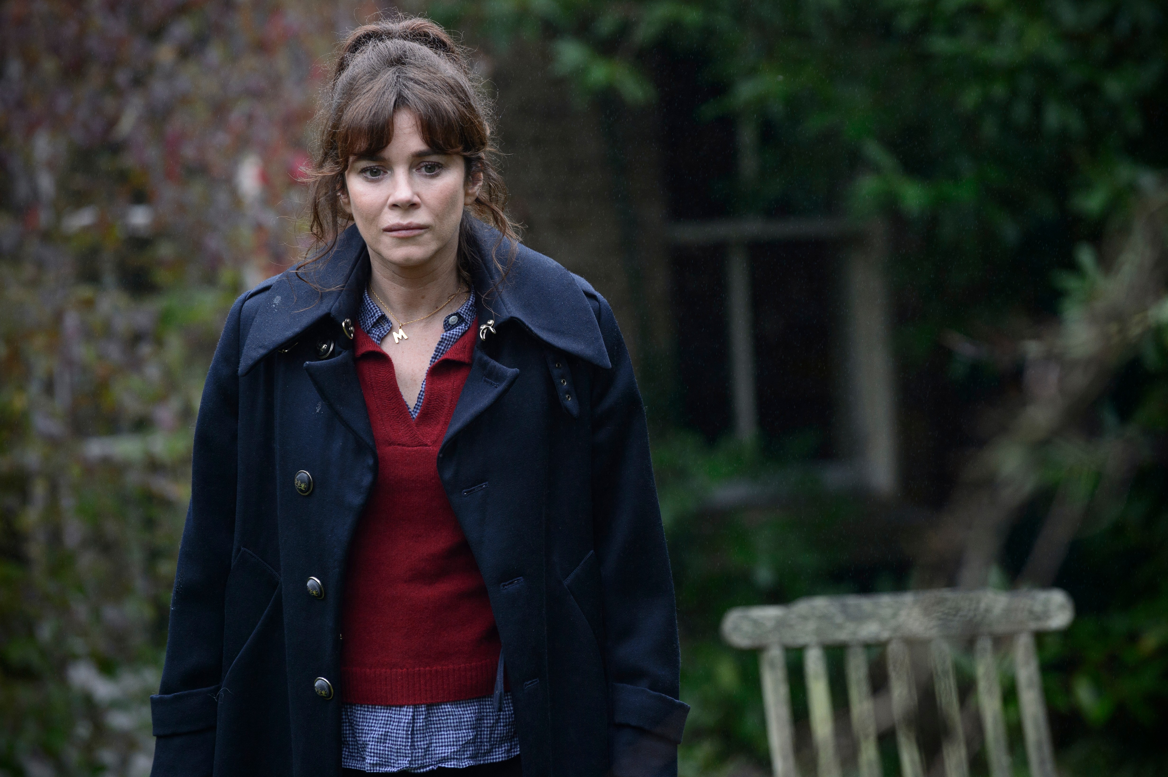 BUCCANEER MEDIA FOR ITVMARCELLAEPISODE 7Pictured: ANNA FRIEL as Marcella. This photograph is (C) iTV and can only be reproduced for editorial purposes directly in connection with the programme or event mentioned above. Once made available by ITV plc Picture Desk, this photograph can be reproduced once only up until the transmission [TX] date and no reproduction fee will be charged. Any subsequent usage may incur a fee. This photograph must not be manipulated [excluding basic cropping] in a manner which alters the visual appearance of the person photographed deemed detrimental or inappropriate by ITV plc Picture Desk.  This photograph must not be syndicated to any other company, publication or website, or permanently archived, without the express written permission of ITV Plc Picture Desk. Full Terms and conditions are available on the website www.itvpictures.comFor further information please contact:Patrick.smith@itv.com 0207 1573044