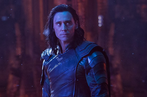 Tom Hiddleston as Loki in Avengers: Infinity War (Marvel, HF)