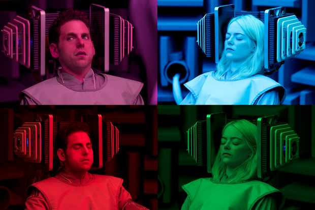Maniac starring Emma Stone and Jonah Hill2