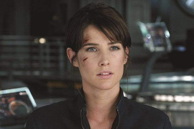 Cobie Smulders as Maria Hill in the 2012 Avengers film (Marvel, HF)
