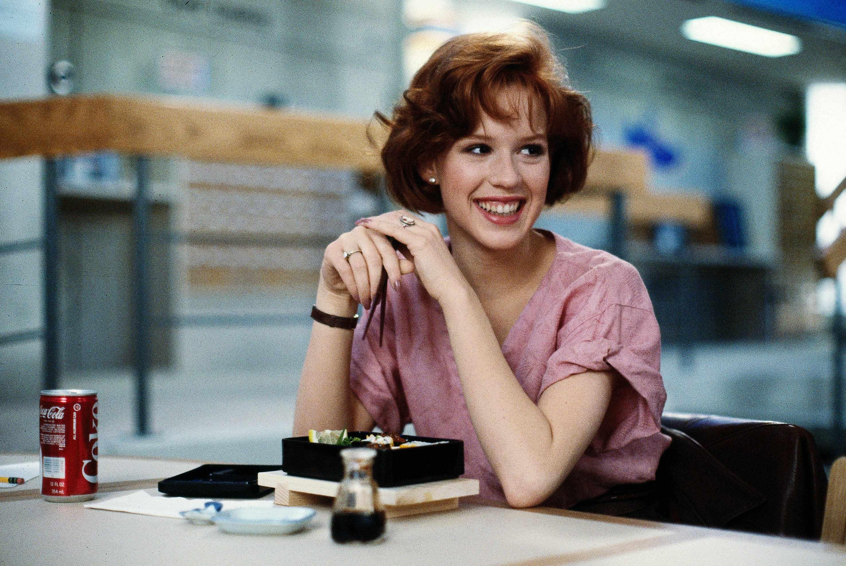 Molly Ringwald, The Breakfast Club (Sky, EH)