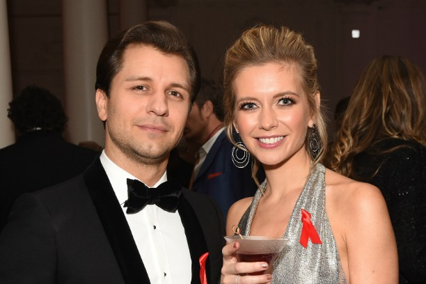 Pasha Kovalev and Rachel Riley