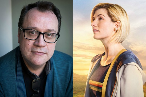 Russell T Davies and Jodie Whittaker as the Thirteenth Doctor (Getty, BBC, HF)