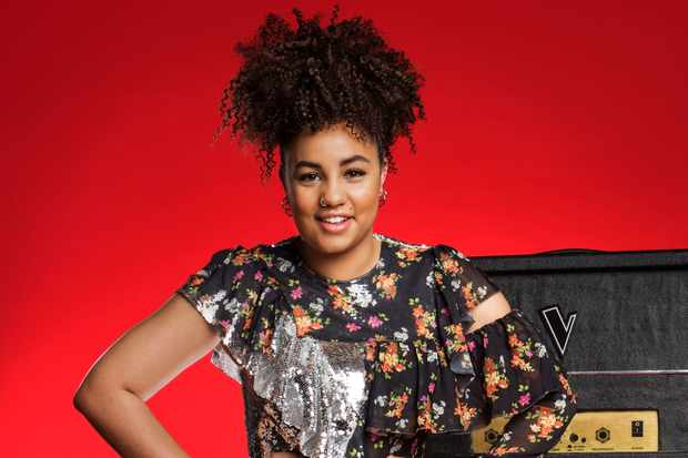 Ruti Olajugbagbe on The Voice UK 2018 Final