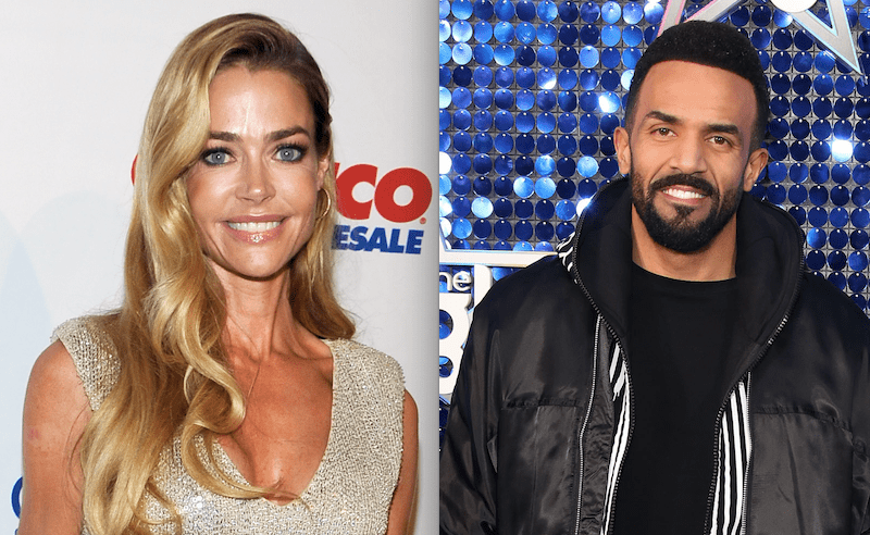 Denise Richards and Craig David for Saturday Night Takeaway