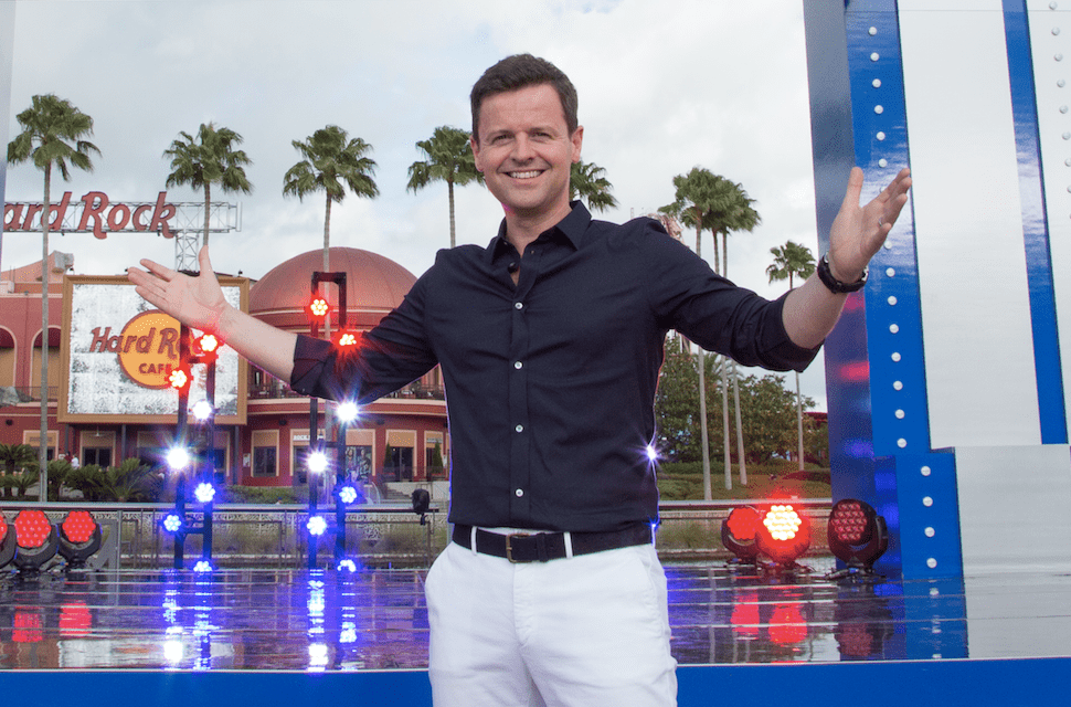 Declan Donnelly hosting Saturday Night Takeaway (ITV, FT)