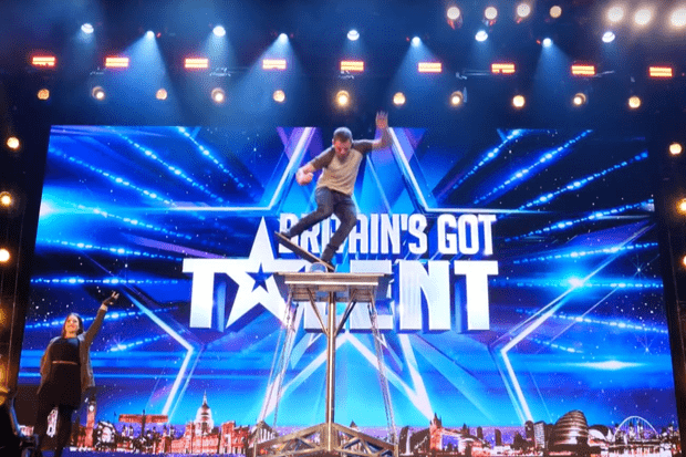 Sascha Williams and Stephanie Nock on Britain's Got Talent