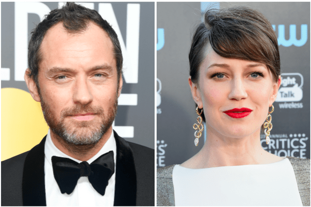 Jude Law, Carrie Coon (Getty, EH)