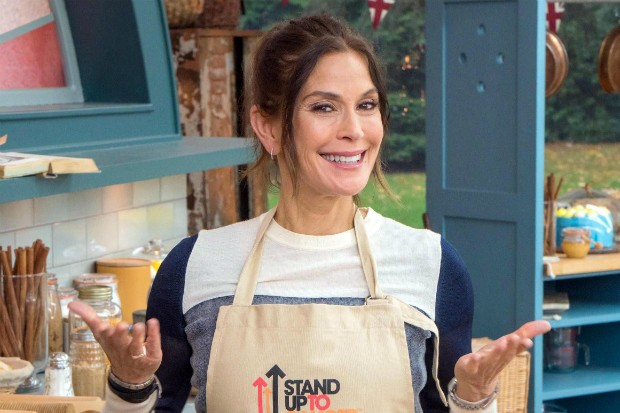 Teri Hatcher on Bake Off