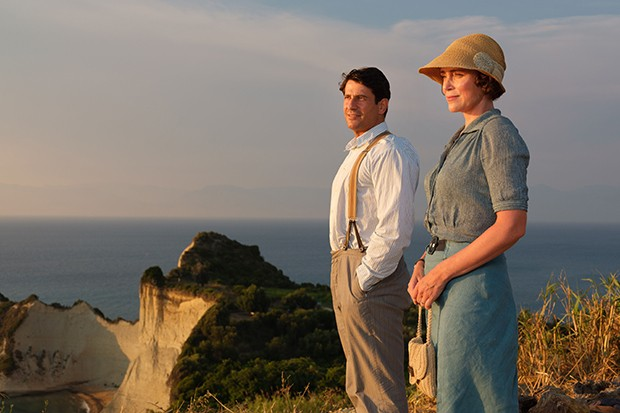 The Durrells - Spiro and Louisa together