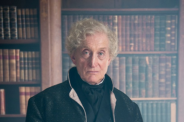 The Woman in White - Charles Dance plays old man Mr Fairlie