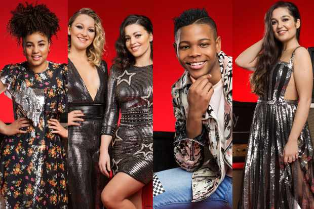The Voice UK Finalists 2018