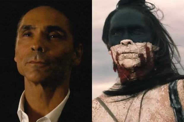 Zahn McClarnon in Westworld (HBO, HF)