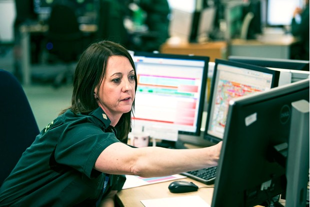 Call taker supervisor Portia (Radio Times/ FC)