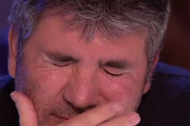 Simon Cowell in Britain's Got Talent, ITV Twitter, SL