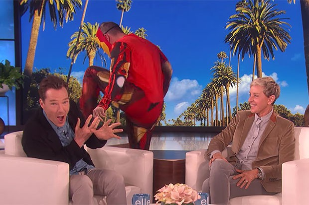 Benedict Cumberbatch on Ellen, YouTube, SL
