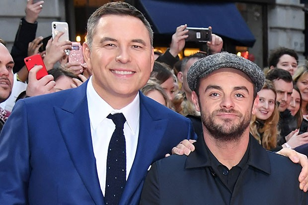 David Walliams and Ant McPartlin, Getty, SL
